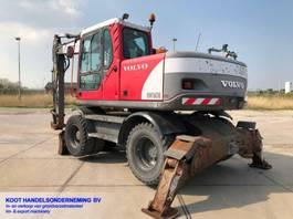escavatore gommato Volvo EW 160B EW 160B BLADE&OUTRIGGERS 2005