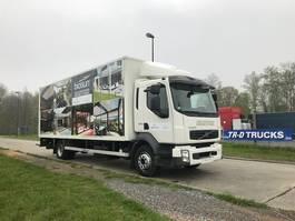 closed box truck > 7.5 t Volvo FL240 MET LAADKLEP D'HOLLANDIA - 450000 KM 2008