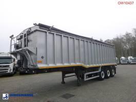 Kippauflieger Wilco x Tipper trailer alu 48.5 m3 + tarpaulin 2010