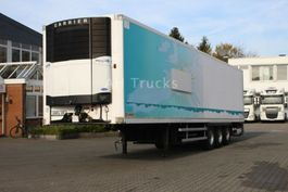 refrigerated semi trailer LAMBERET Carrier Vector 1800Mt/Strom/Bi-Temp./Liftachse 2005
