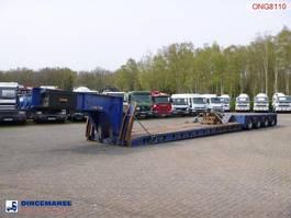 Plattformauflieger King 4-axle lowbed trailer 104 t / 9.6 m / 4 steering axles 2000