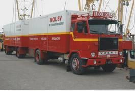 closed box truck Volvo F88  1977