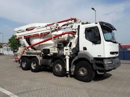 concrete pump truck Renault PUTZMEISTER 21 meter  7 m3 mixer 2006