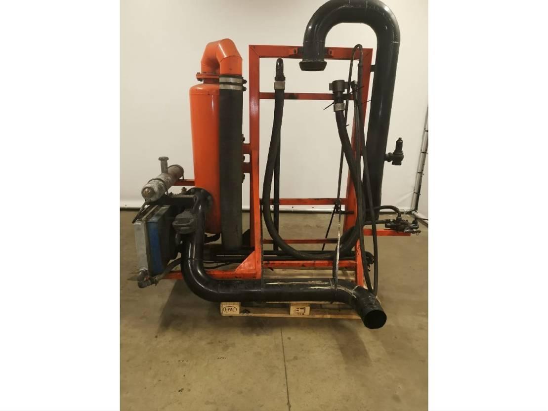 bomba de água máquina DIV. Occ Vacuümpomp systeem