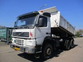 tipper truck > 7.5 t Volvo FM 12 380 EURO 2 6X6 3 ZIJDIGE MEILLER KIEPER 2000