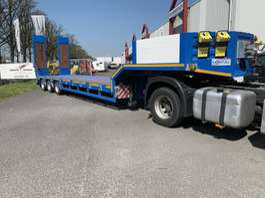 semi lowloader semi trailer MONTULL SA NEW NIEUW Goose neck trailer whit ramps Semi oplegger ,, geen... 2019