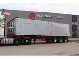 tipper semi trailer Langendorf 55m3 alu-body 2018