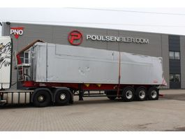 tipper semi trailer Langendorf 55m3 alu-body 2018