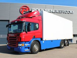 refrigerated truck Scania P380 6x2 2008