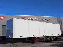 closed box semi trailer Ekeri Ekeri opening side, box 2020