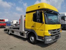 car transporter truck Mercedes-Benz Atego 822 4x2 BL / 2 Autos / Euro 5 / TUV NEU!