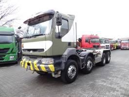 swap body truck Renault KERAX 420 8X4 2003