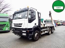 swap body truck Iveco TRAKKER AD380T41 6X4 GERGEN TAK28 ADONIS 2010