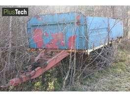 flatbed car trailer Damm Planhenger 1973