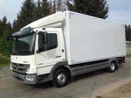 camião de caixa fechada Mercedes Benz ATEGO 816 - EURO 5 - 7,5 ton- halve laadklep 2011