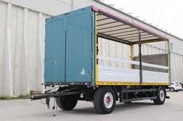 tilt trailer Saxas Pritsche Plane Durchlademöglichkeit 2009