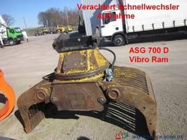 miscellaneous attachment Caterpillar Vibro Ram ASG 700 D Sortiergreifer Verachtert CW 1999