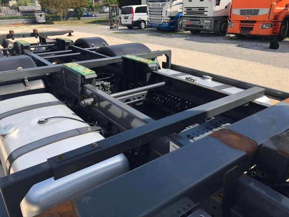 camion à caisse mobile Mercedes Benz Actros 2542 L BDF 6x2 Retarder Euro6