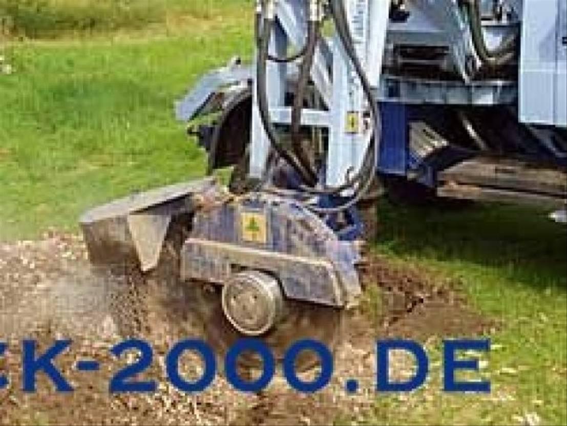 soil stabilizer Mercedes Benz 1831 4x4 Menzi Muck Baumstumpf- Wurzelfräse 1995