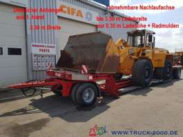 other farming trailers and semi trailers Fliegl  Tieflader Land + Baumaschinen 30cm Höhe 2005
