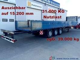 полуприцеп с откидными бортами Kögel SN24 Spezial Verlängerbar auf 15,20m NL 31.000kg 2003