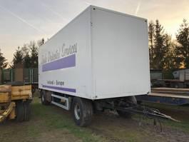 closed box trailer Jumbo Kasten opbouw 2000
