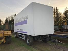 прицеп-закрытый короб Jumbo Kasten opbouw 2000