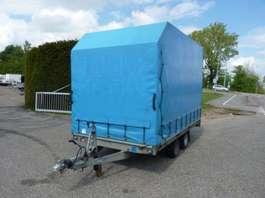 tilt car trailer Hapert plateauwagen 2007