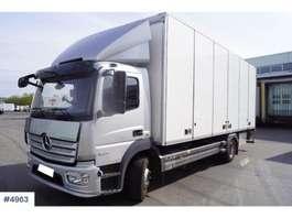 closed box truck Mercedes Benz Atego skapbil 2014
