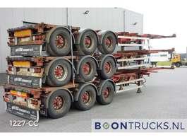 semirreboque de chassi de contentor HFR *STACK PRICE EUR 11250* 20-30-40-45ft HC *EXTENDABLE REAR* 2004