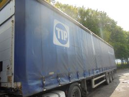 sliding curtain semi trailer LeciTrailer Hefdak 2006