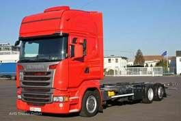chassis cab truck Scania R 410 Topline Retarder ACC BDF Jumbo SCR Only! 2014