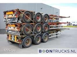 semirreboque de chassi de contentor HFR *STACK PRICE EUR 14750 *20-30-40-45ft HC* EXTENDABLE REAR * 2006