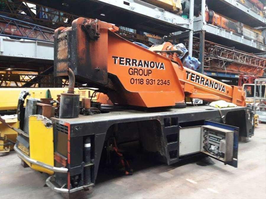 Used Terex Demag AC 75 for parts Rough Terrain Crane