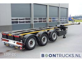 container chassis semi trailer Broshuis 3 UCC-39   20-30-40-45ft * DISC BRAKES * TOP CONDITION 2013