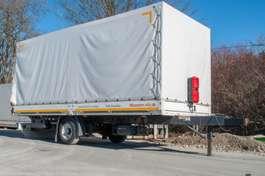 tilt trailer Möslein EPT 1A 1 Achs Tandem Pritschenanhänger 2011