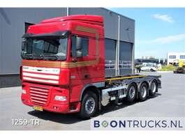 camião de contentores DAF XF105.510 8X2 MANUAL 20 ft CONTAINERFRAME 2012