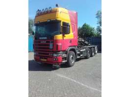 camion conteneur Scania kabelsysteem 2005