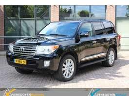 voiture particulière tout-terrain – 4x4 Toyota Land Cruiser V8 4.5 D4D Executive Grijs kenteken v.a. 1030 euro  p/mnd 2015
