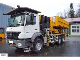 other aerial platform Mercedes Benz Axor 2628 6x4 Ladebil med AMV lift 2005