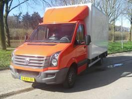 closed box lcv < 7.5 t Volkswagen CRAFTER bakwagen met hollandia laadklep en zijdeur 2012