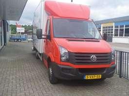 closed box lcv Volkswagen CRAFTER bakwagen met hollandia laadklep en zijdeur 2012