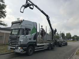 camión maderero Scania R 500 B 6X4 NAAFREDUCTIE 2011