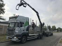 лесовоз Scania R 500 B 6X4 NAAFREDUCTIE 2011