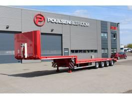 lowloader semi trailer Hangler 4-axle 2020