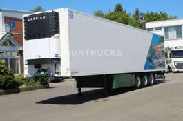 refrigerated semi trailer Lamberet Carrier Maxima 1300+Strom/Pal-kasten/Trennwand 2010