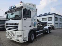 camión contenedor DAF 105.XF 410 6X2 EURO-5 2008