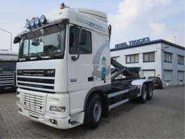 camion portacontainer DAF 105.XF 410 6X2 EURO-5 2008
