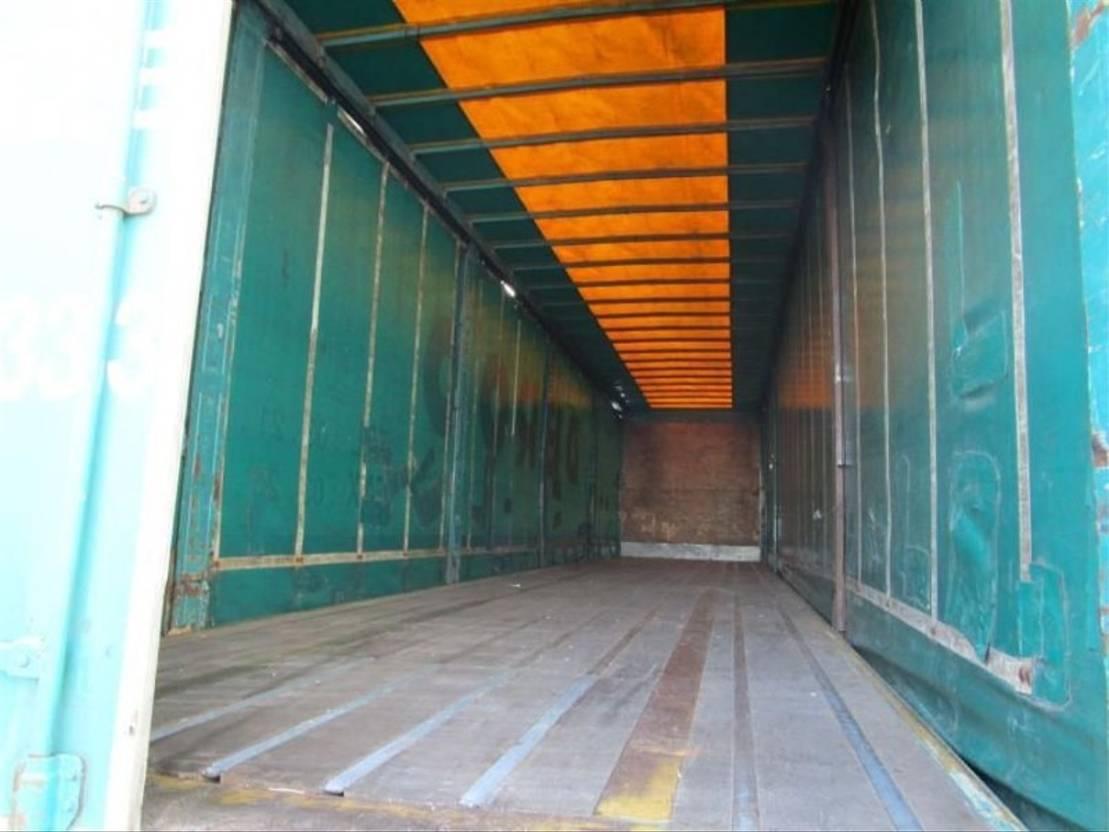 sliding curtain semi trailer TRAILOR 2000