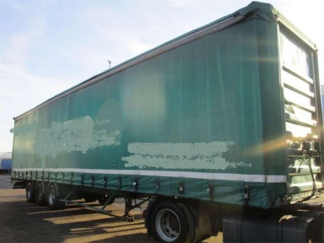 sliding curtain semi trailer General Trailers GENERAL TRAILER 3-ASSER   **SCHRIJFREMMEN** 2001